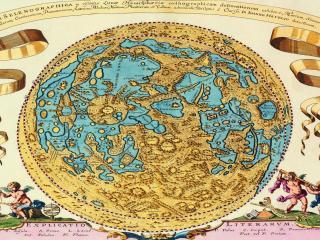 обои Древняя карта мира фото