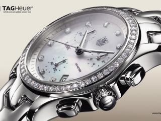 обои TAG Heuer Link Lady Diamond Chronograph Watch фото