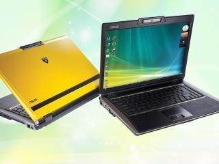 обои ASUS-Lamborghini VX2 Laptop фото