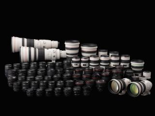обои Canon - Lens Collection фото