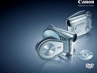 обои для рабочего стола: Canon DC20 DVD Camcorder