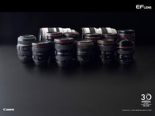 обои Canon EF Lenses фото