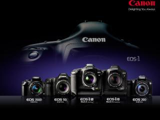 обои Canon EOS-1D Mark II N фото