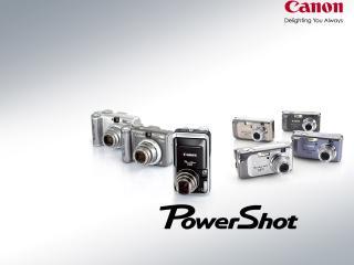 обои Canon PowerShot Digital Cameras фото