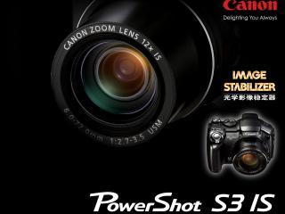 обои Canon PowerShot S3 IS, Digital Camera фото