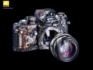 обои Nikon в разрезе фото