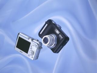 обои Nikon Coolpix P1 P2 фото