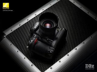 обои Nikon D3X на кейсе фото