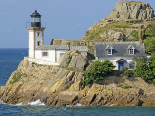 обои Дом у моря, Франция фото