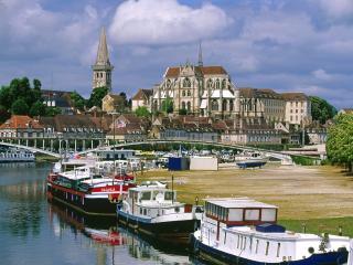 обои Причал, Франция фото