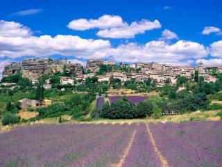 обои Красивые луга, Франция фото