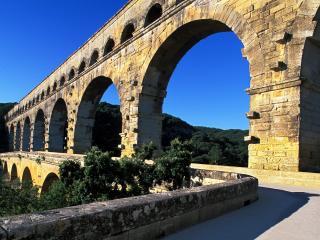 обои Стена с арками, Франция фото