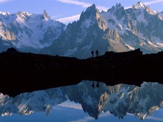 обои Красивые горы, Франция фото