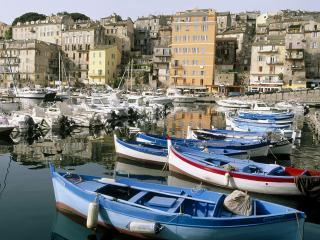 обои Лодки и катера на причале, Франция фото