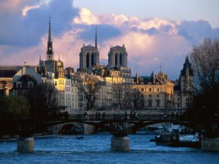 обои Городской мост, Франция фото