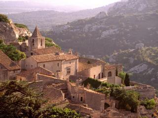 обои Дома в горах, Франция фото