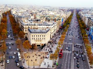 обои Городские дороги, Франция фото