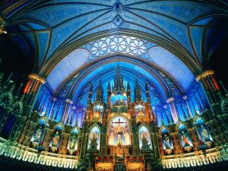 обои Великолепный храм, Канада фото