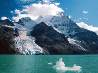 обои Горы солнечным днем, Канада фото