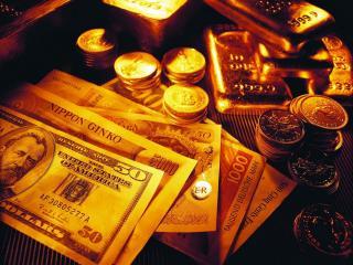 обои Деньги и золото фото