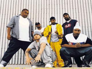 обои Eminem & D-12 monsters of Hip-Hop фото