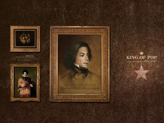 обои Michael Jackson картина фото