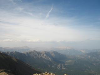 обои Турция, Кемер, горы. Вид сверху фото
