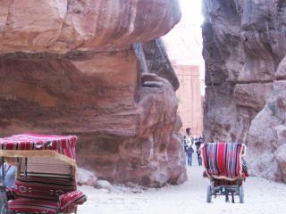 обои Иордания. Петра - переход через горы фото
