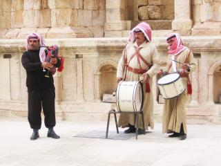 обои Иордания, Петра, бедуины фото