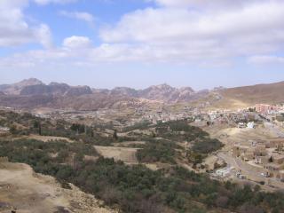 обои Иордания. Петра - панорамный вид на прирору Иордании фото