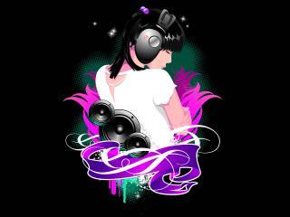 обои Абстактный DJ фото