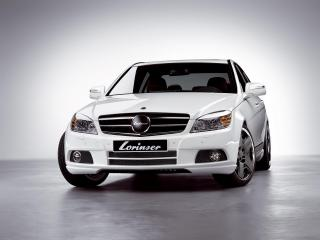 обои Lorinser LV8 Mercedes-Benz C-Class красавец фото