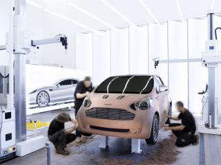 обои Aston Martin Cygnet 2010 шлифовка макета фото