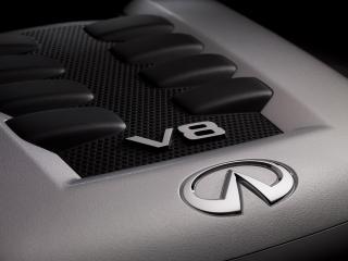 обои Infiniti FX Limited Edition 2010 мотор фото