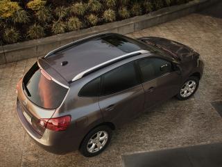 обои Nissan Rogue 2010 сверху фото