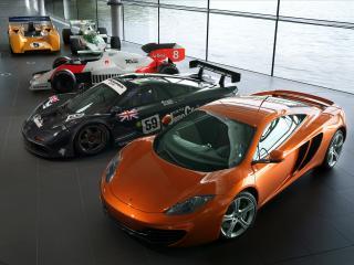 обои McLaren MP4 12C 2011 и другие модели фото