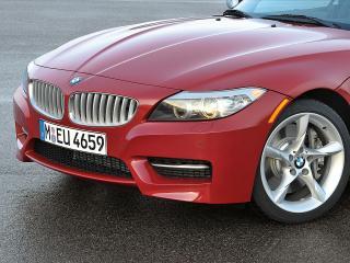 обои BMW Z4 2011 front переднее колесо фото