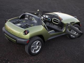 обои Jeep Renegade Concept Vehicle 2010 зад боком фото