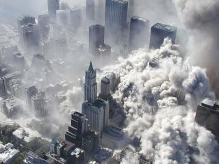 обои Нью Йорк 11.09.2001 фото