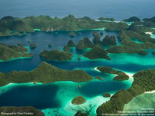 обои Лабиринт островов Раджи Ампата фото