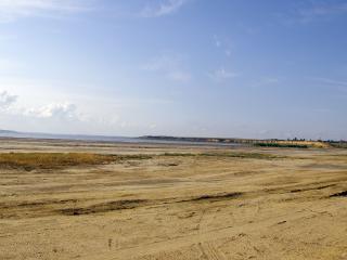 обои Бескрайний песчанный горизонт фото