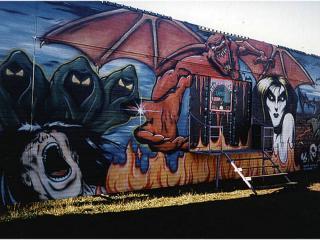 обои Рисунок в  стиле граффити,которому хотят научится многие фото