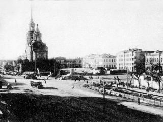 обои Свердловск. Старый город - Центральный храм фото