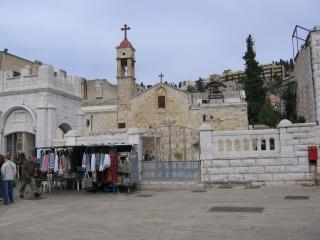 обои Православная церковь в Назарете фото