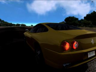 обои Ferarri Maranello yellow фото