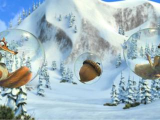 обои Cartoons in the bubbles Ice Age фото