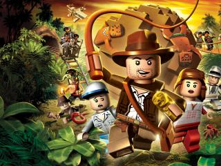 обои LEGO Indiana Jones фото