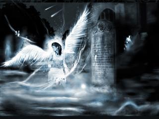 обои Белый ангел вод паметника фото
