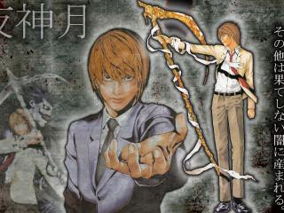 обои Death Note-могущественный Ягами Лайт фото