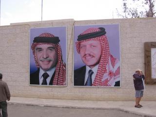 обои Король Иордании и его отец фото